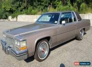 1984 Cadillac DeVille for Sale