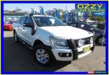 Classic 2012 Ford Ranger PX Wildtrak 3.2 (4x4) White Automatic 6sp A Crewcab for Sale