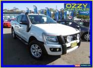 2012 Ford Ranger PX Wildtrak 3.2 (4x4) White Automatic 6sp A Crewcab for Sale