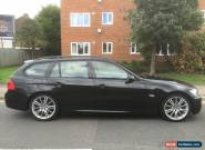 2006 BMW 325I M SPORT TOURING AUTO BLACK for Sale