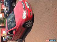 2005 VAUXHALL CORSA SXI TWINPORT S-A RED spares or repairs  for Sale