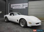 1980 CHEVROLET CORVETTE T TOP 350 AUTO LHD for Sale