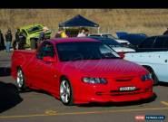 Corsa csv bullet holden ute vu 2002 rare car  for Sale