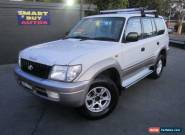 2000 Toyota Landcruiser Prado VZJ95R GXL Kimberley (4x4) White Manual 5sp M for Sale