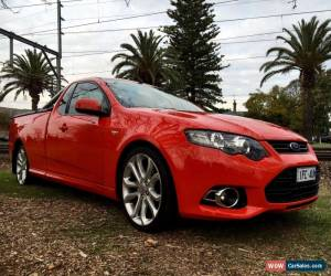 Classic 2013 mk11 Ford FG XR6 Turbo Ute  for Sale