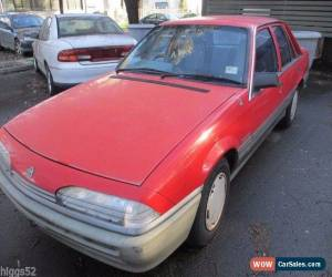Classic HOLDEN  COMMODORE RED VL SEDAN RB30 AUTO NICE CAR FOR ITS AGE. NEEDS A POLISH  for Sale
