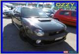 Classic 2002 Subaru Impreza MY02 WRX (AWD) Black Manual 5sp M Hatchback for Sale
