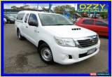Classic 2011 Toyota Hilux KUN16R MY12 SR White Manual 5sp M Extracab for Sale