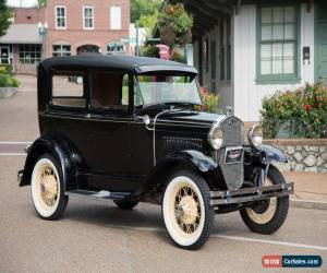Classic 1931 Ford Model A Deluxe 2 Door Sedan for Sale