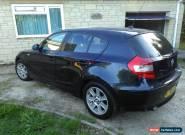 2005 BMW 120D SE BLUE..11 months  MOT.. spares or repair. for Sale