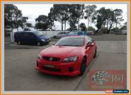 2007 Holden Commodore VE MY08 SS Red Automatic 6sp A Sedan for Sale