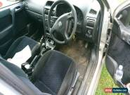 2001 VAUXHALL ASTRA LS 16V SILVER for Sale