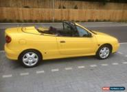 1999 T Reg Renault Megane 1.6 16v Convertible Spares Or Repair  for Sale
