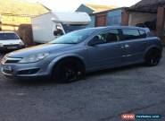 VAUXHALL ASTRA 2005 BLACK LEATHER  FULL SPEC  for Sale