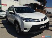 2013 Toyota RAV4 ASA44R GX (4x4) White Automatic 6sp A Wagon for Sale