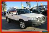 Classic 2007 Subaru Forester 79V MY07 X White Automatic 4sp A Wagon for Sale