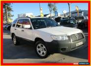2007 Subaru Forester 79V MY07 X White Automatic 4sp A Wagon for Sale