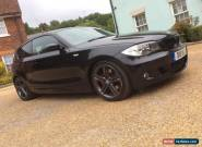 BMW 1 Series Hatchback 123d M Sport Black  for Sale