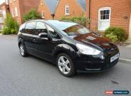 LOW MILEAGE 2007 FORD S-MAX TITANIUM 1.8 TDCI DIESEL MANUAL MPV - METALLIC BLACK for Sale