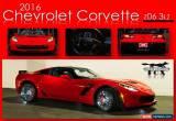 Classic 2016 Chevrolet Corvette 3LZ for Sale