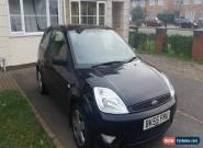 FORD FIESTA ZETEC BLACK 2005 CAR 1.4 for Sale