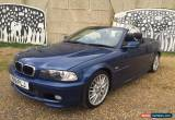 Classic 2001 BMW 325 CI Convertible M Sport In Blue With Black Leather - New MOT - 122K for Sale