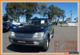 Classic 2001 Toyota Landcruiser Prado VZJ95R Grande (4x4) Black Automatic 4sp A Wagon for Sale