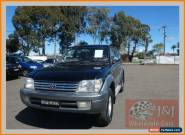 2001 Toyota Landcruiser Prado VZJ95R Grande (4x4) Black Automatic 4sp A Wagon for Sale