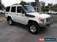 2012 Toyota Landcruiser VDJ76R 09 Upgrade GXL (4x4) White Manual 5sp M Wagon for Sale
