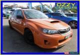 Classic 2012 Subaru WRX MY12 (AWD) Orange Manual 5sp M Sedan for Sale