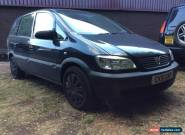 2001 VAUXHALL ZAFIRA 16V CLUB 1.6 MANUAL PETROL MOT EXPIRES 28/05/17 INCL A/C for Sale