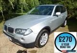 Classic 2007 BMW X3 2.0d SE 5dr Estate Diesel for Sale