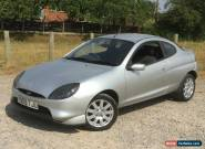 2001 FORD PUMA 1.7 16V 2 DOOR COUPE MOONDUST SILVER VERY CLEAN AND TIDY for Sale