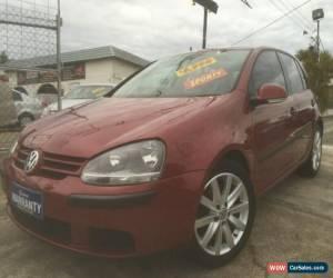 Classic 2004 Volkswagen Golf 1K 1.6 Comfortline Red Manual 5sp M Hatchback for Sale