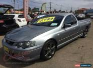 2004 Ford Falcon BA XR6 Grey Automatic 4sp A Utility for Sale