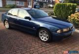 Classic BMW 535i MTech Sport Automatic Topaz Blue Excellent Condition for Sale