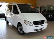 2007 Mercedes-Benz Vito 115 CDI White Automatic A Sedan for Sale