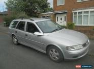 2000 VAUXHALL VECTRA 1.8I 16V SILVER for Sale