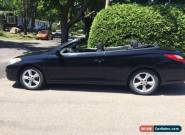 2006 Toyota Solara SE CONVERTIBLE for Sale