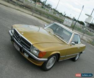 Classic 1973 Mercedes-Benz 350 SL Gold Automatic 4sp A Sports for Sale
