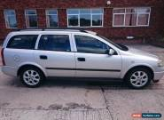 2003 VAUXHALL ASTRA CLUB CDTI SILVER ESTATE DIESEL for Sale