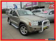 2005 Jeep Grand Cherokee WH MY2006 Limited Champagne Automatic 5sp A Wagon for Sale