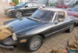 Classic Alfa Romeo: Spider for Sale