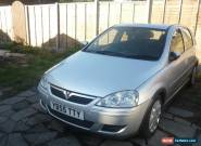 2005/55 VAUXHALL CORSA 1.2 DESIGN TWINPORT SILVER for Sale