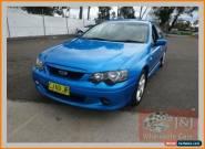 2003 Ford Falcon BA XR6 Blue Manual 5sp M Sedan for Sale