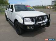 2012 Nissan Navara D40 S5 MY12 ST-X 550 White Automatic 7sp A 4D UTILITY for Sale