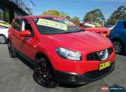 2012 Nissan Dualis J10 Series 3 ST (4x2) Red Manual 6sp M Wagon for Sale