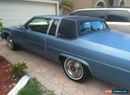1981 Cadillac DeVille for Sale