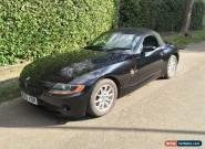 BMW Z4 2.2 BLACK for Sale