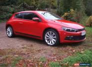 2009 VOLKSWAGEN SCIROCCO GT TDI RED DIESEL for Sale